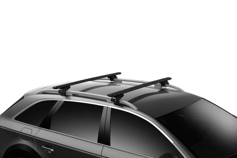 Evo wing bar černý na autě1