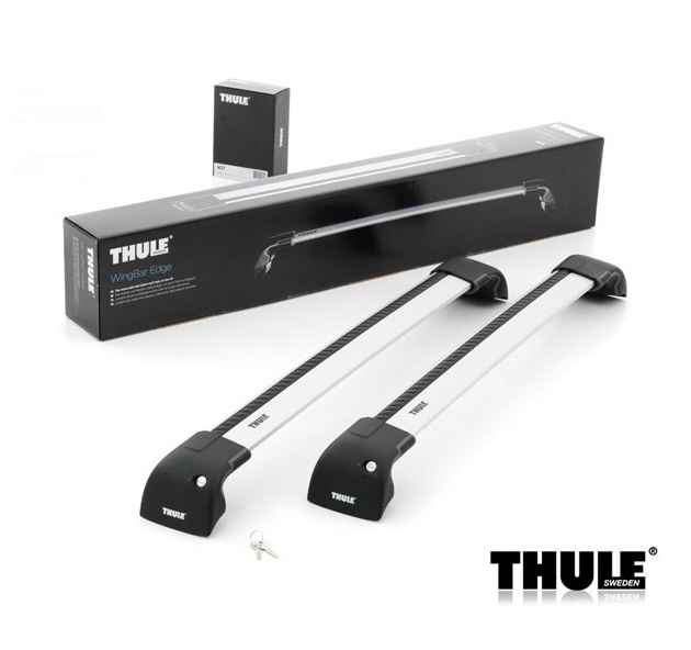 Thule_WingBar_ Edge_set+KIT stříbrný